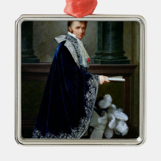 Portrait of Francois-Nicolas Mollien  1806 Christmas Ornament