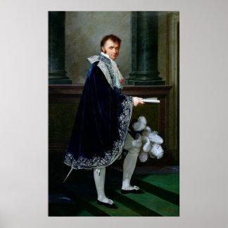 Portrait of Francois-Nicolas Mollien  1806 Poster