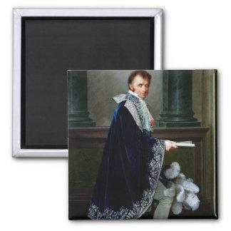 Portrait of Francois-Nicolas Mollien  1806 Square Magnet