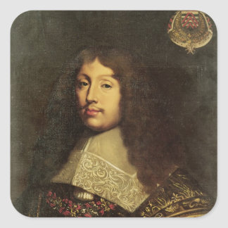 Portrait of Francois VI  Duke of La Square Sticker