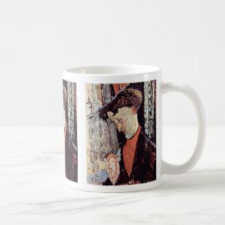 Portrait Of Frank Haviland Burty Mug