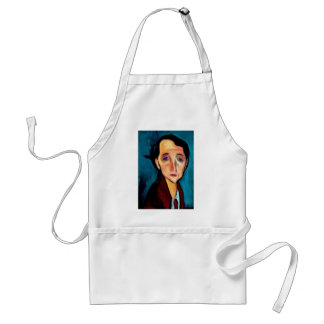 portrait-of-franz-hellens standard apron