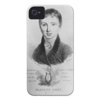 Portrait of Franz Liszt (1811-86) aged 11 (engravi Case-Mate iPhone 4 Case