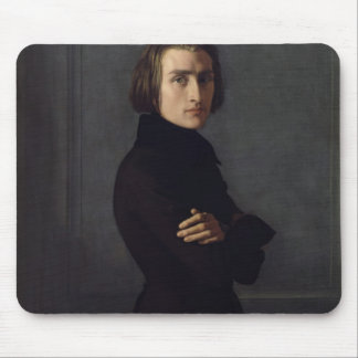 Portrait of Franz Liszt  1839 Mouse Pad