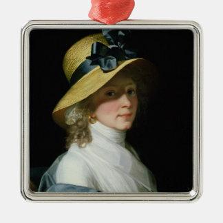 Portrait of Frau Senator Elisabeth Hudtwalcker Christmas Ornament