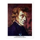 Portrait Of Frédéric Chopin Postcard