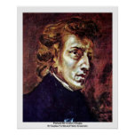 Portrait Of Frédéric Chopin Posters
