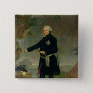 Portrait of Frederick II  the Great, 1772 15 Cm Square Badge