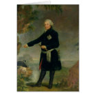 Portrait of Frederick II  the Great, 1772 Card