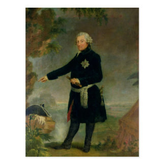 Portrait of Frederick II  the Great, 1772 Postcard