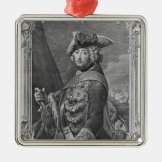 Portrait of Frederick II, The Great Christmas Ornament