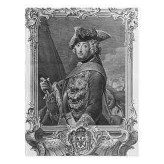 Portrait of Frederick II, The Great Postcard