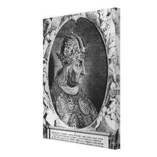 Portrait of Frederick IV , Holy Roman Emperor Canvas Print