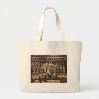 Portrait of Freemasons of the Anglo-Saxon Lodge Jumbo Tote Bag