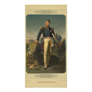 Portrait of French General Marquis de Lafayette Photo Card