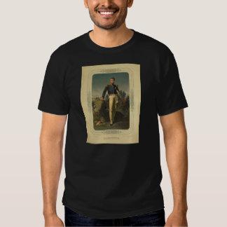 Portrait of French General Marquis de Lafayette T-shirts