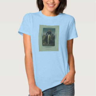 Portrait of French General Marquis de Lafayette Tee Shirts