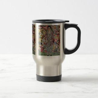 Portrait Of Friederike Maria Beer By Klimt Gustav Stainless Steel Travel Mug