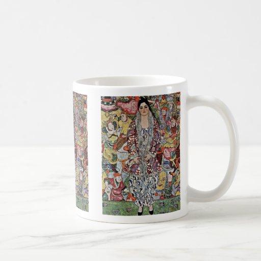 Portrait Of Friederike Maria Beer By Klimt Gustav Coffee Mug