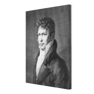 Portrait of Friedrich Heinrich Alexander Gallery Wrapped Canvas