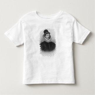 Portrait of Fulke Greville  1st Baron Brooke Toddler T-Shirt