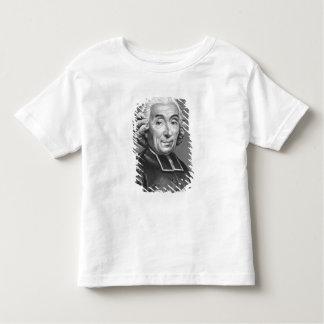 Portrait of Gabriel Bonnot de Mably Toddler T-Shirt