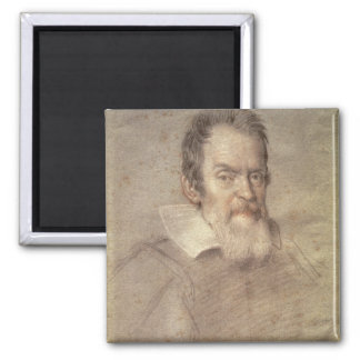 Portrait of Galileo Galilei  Astronomer Magnet