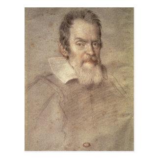 Portrait of Galileo Galilei  Astronomer Postcard