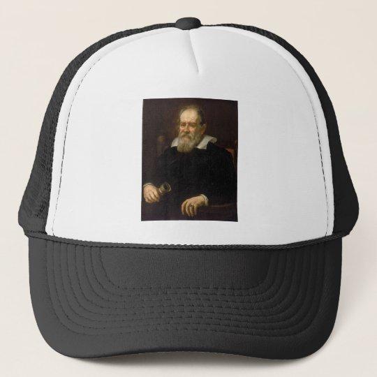 Portrait of Galileo Galilei by Justus Sustermans Cap