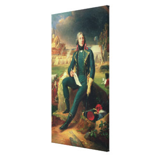 Portrait of General Louis-Lazare Hoche Canvas Print