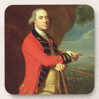 Portrait of General Thomas Gage, c.1768 (oil on ca Beverage Coasters