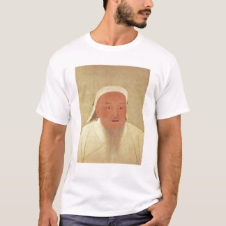 Portrait of Genghis Khan , Mongol Khan T-Shirt