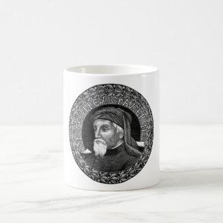 Portrait of Geoffrey Chaucer Mug