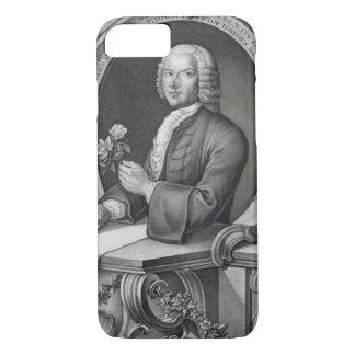 Portrait of Georg Dionysius Ehret (1710-70) engrav iPhone 8/7 Case