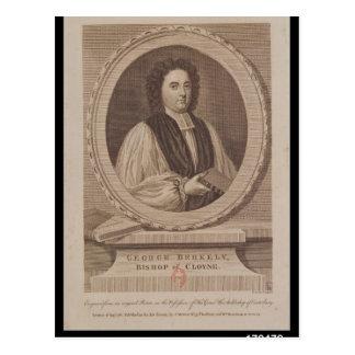 Portrait of George Berkeley  Bishop Postcard