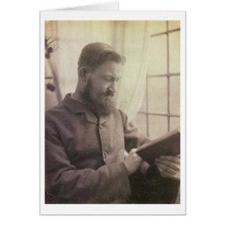 Portrait of George Bernard Shaw 1856-1950 as a Y Card