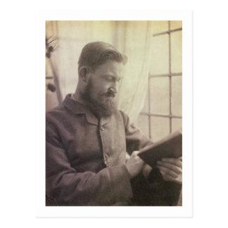 Portrait of George Bernard Shaw (1856-1950) as a Y Postcard