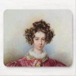 Portrait of George Sand  1830 Mousepad