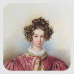 Portrait of George Sand  1830 Stickers