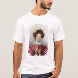 Portrait of George Sand  1830 T-Shirt
