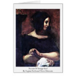Portrait Of George Sand Cards