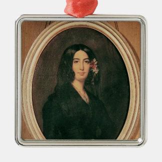Portrait of George Sand Christmas Ornament