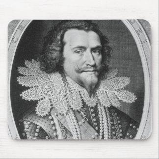 Portrait of George Villiers Mouse Mat