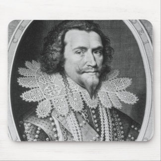 Portrait of George Villiers Mouse Pad