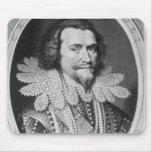 Portrait of George Villiers Mouse Pads