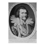 Portrait of George Villiers Poster
