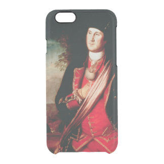 Portrait of George Washington  1772 Clear iPhone 6/6S Case