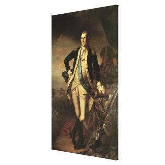 Portrait of George Washington, 1779 Canvas Print