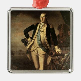Portrait of George Washington, 1779 Christmas Ornament