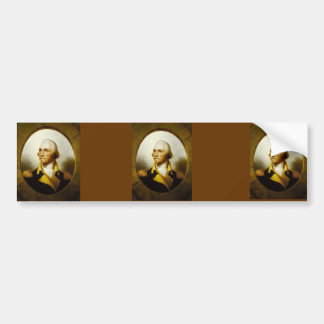 Portrait of George Washington Bumper Sticker